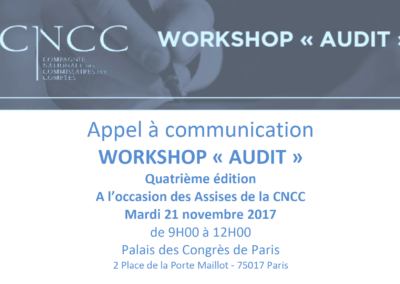 CNCC Workshop Audit