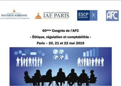 40ème congrès de l'AFC
